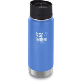 Klean Kanteen Wide Vacuum Insulated Bidón Vaso Café 2.0 473ml, azul